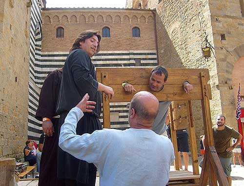 Volterra - re-enactment of medieval life