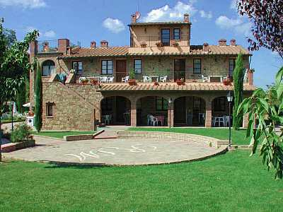 Beautifully Restored To Enhance The Typical Tuscan Architecture Of This Area Massive Structure Is A Mix Field Stone And Red Brick