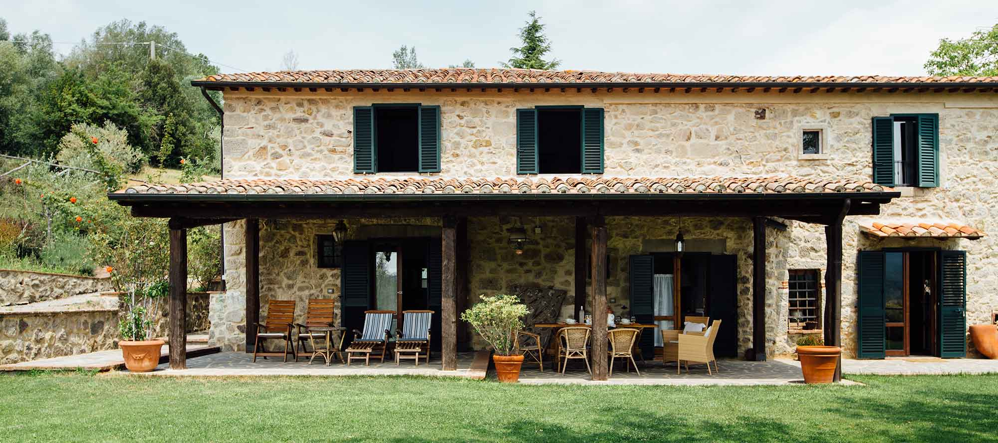 Cosy Tuscan villa rental within walking distance